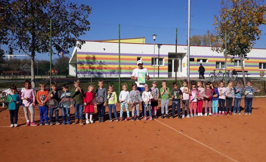Vrtićancima prezentiran tenis