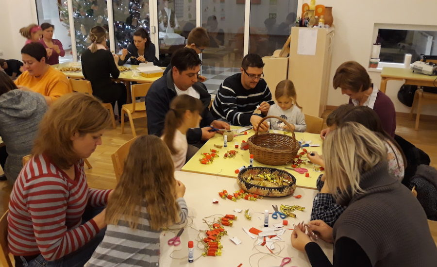 Božićno druženje i radionice u vrtiću