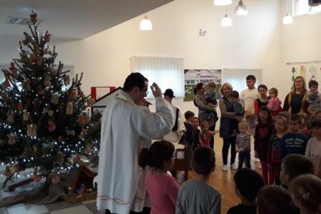 Blagoslov vrtića, djece i djelatnika