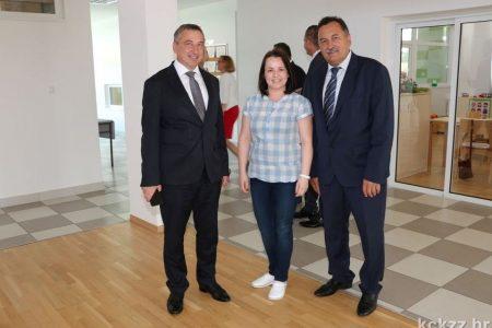 Potpredsjednik Vlade RH i ministar graditeljstva i prostornog uređenja g. Predrag Štromer obišao prostore našeg vrtića