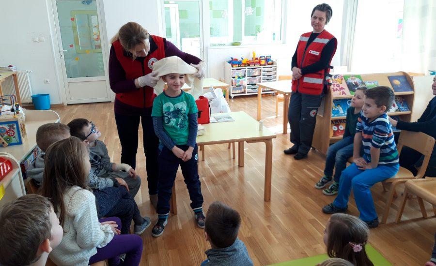 Gradsko društvo Crvenog križa iz Đurđevca održalo zanimljive edukativne aktivnosti u našem vrtiću