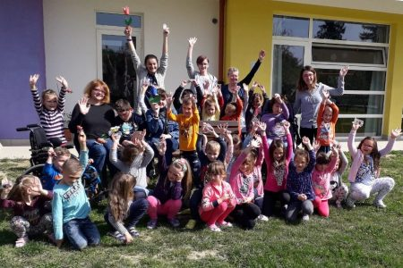 """Udruga za pomoć osobama s intelektualnim teškoćama """"Latice"""" iz Koprivnice u posjetu našem vrtiću"""