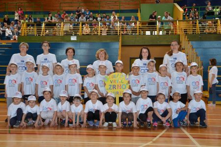 Vrtićanci sudjelovali na 18. Olimpijskom festivalu Dječjih vrtića u Đurđevcu