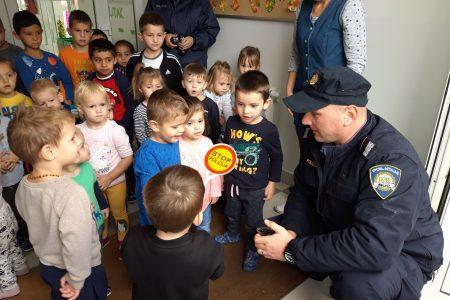 Policijski dan u vrtiću