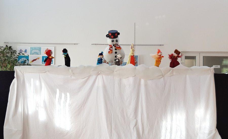"""Uživali smo u lutkarskoj predstavi """"Snjegović i njegov nos"""""""